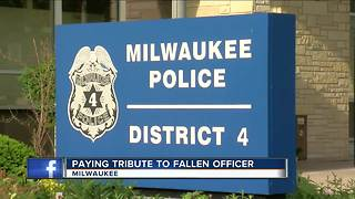 District 4 memorial grows for fallen officer