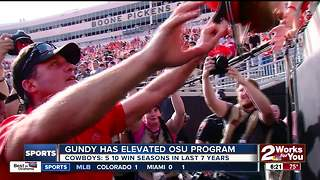 Mike Gundy turns 50 years old - Video