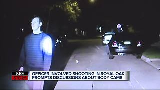 Dash-cam video shows moments before man shot & killed by Royal Oak police officer - Video
