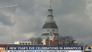 Annapolis prepares for New Year's Eve - Video