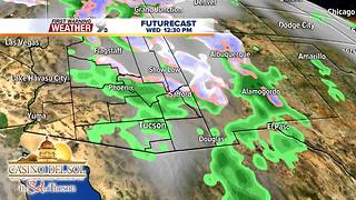 FORECAST: Stormy weather quickly moves east - Video