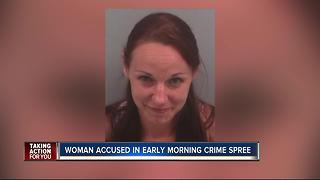 Police: Woman went on hit-and-run rampage - Video