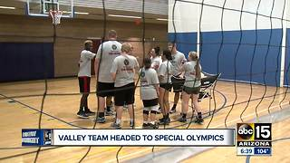 Valley volleyball team headed to special olympics - Video