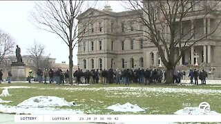 Security remains tight at Michigan Capitol ahead of Biden inauguration
