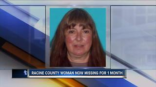 Racine County woman now missing for 1 month - Video