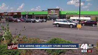 KCK announces plans for downtown grocery store - Video