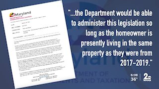 MD lawmakers considering bill refunding homeowners shortchanged on tax credits