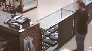 Armed Robber Learns Lesson When He Tries To Rob A Gun Store - Video