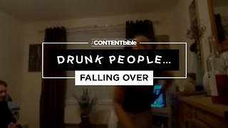 Drunk People Falling Over | Fail Compilation - Video