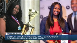 Detroit student awarded full scholarship