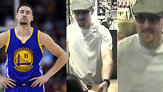 LOL! Klay Thompson Accused of Robbing Banks - Video