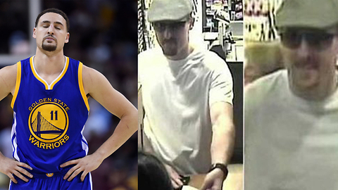 LOL! Klay Thompson Accused of Robbing Banks