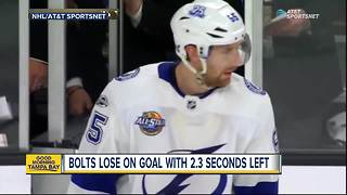Shea Theodore's goal with 2.3 seconds left lifts Vegas Golden Knights over Tampa Bay Lightning - Video