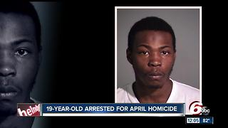 Man arrested in connection with April homicide - Video