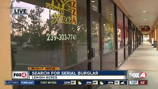 String of business burglaries in Lehigh Acres strip mall - Video