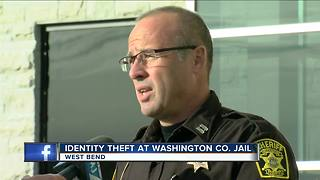 Washington Co. Sheriff: Jail inmate stole fellow inmate's identity - Video