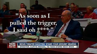 Curtis Reeves to take stand next week in 'stand your ground' hearing - Video