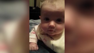 What Is This Baby Doing? - Video