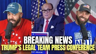 Breaking News: Trump's Legal Team Press Conference