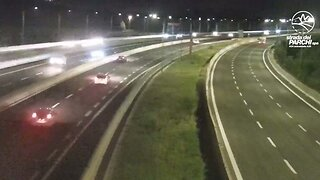 Heart-stopping Footage Shows Earthquake Shake Busy Motorway