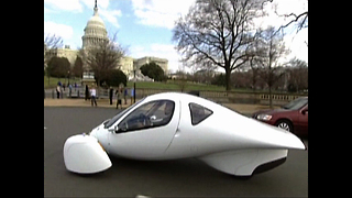 Futuristic Electric Car