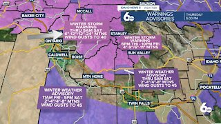 Scott Dorval's Idaho News 6 Forecast - Thursday 2/25/21