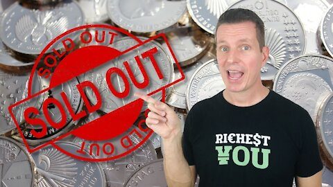 OUT OF STOCK | Silver Demand and the Effects of Physical Silver Bullion