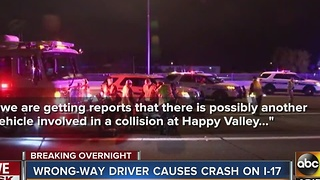 Driver comes close to serious injury as he avoid wrong-way driver - Video