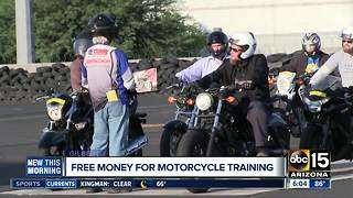 Scholarship money to be available for motorcycle training courses - Video