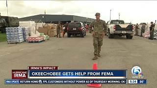 Okeechobee gets help from FEMA - Video