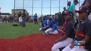 James Mosher Little League Opening Day - Video