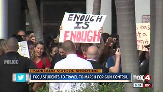 FGCU students to travel to DC for 'March For Our Lives' - Video
