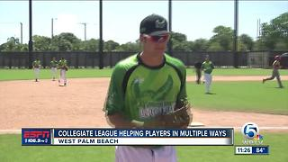 Collegiate League Helping Players In Multiple Ways - Video
