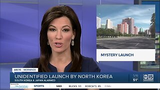 North Korea fires unknown object
