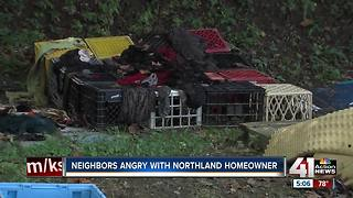 Neighbors fed up with trash around Northland house - Video