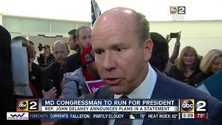 US Rep. John Delaney of Maryland to run for president - Video