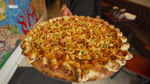 This Game Day Pizza Is Encrusted With Pigs-In-A-Blanket