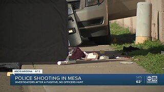 Mesa police investigating a deadly officer-involved shooting involving Tempe officers