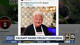 FaceApp raises privacy concerns