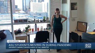ASU students moving during the COVID-19 pandemic