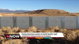 Tampa business wants to build border wall - Video