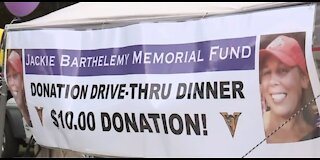 Drive-thru dinner helps victim's family