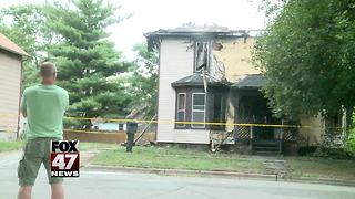 Jackson house fire leaves two dogs dead - Video