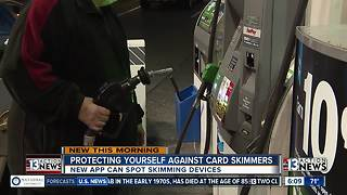 Smartphone app can help detect credit card skimmers - Video