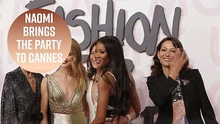 Naomi Campbell's fashion event bring the star power - Video