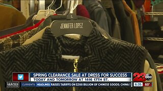 Dress for Success spring sale