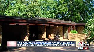Historic Frank Lloyd Wright home for sale