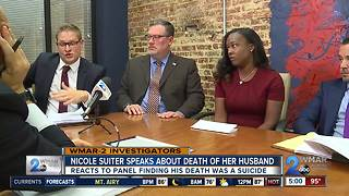 Nicole Suiter Speaks About Death of Her Husband