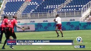FAU Alumni Flag Football game
