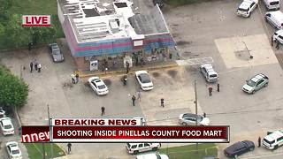 1 injured after Clearwater food store shooting - Video